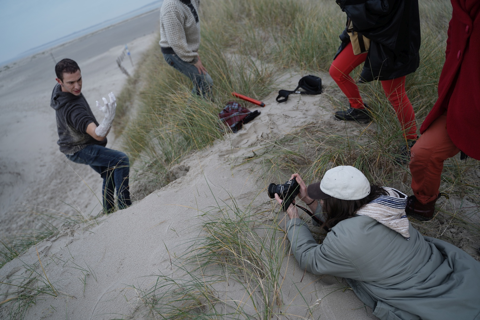 "Behind the scenes of the ""Pändo"" video"