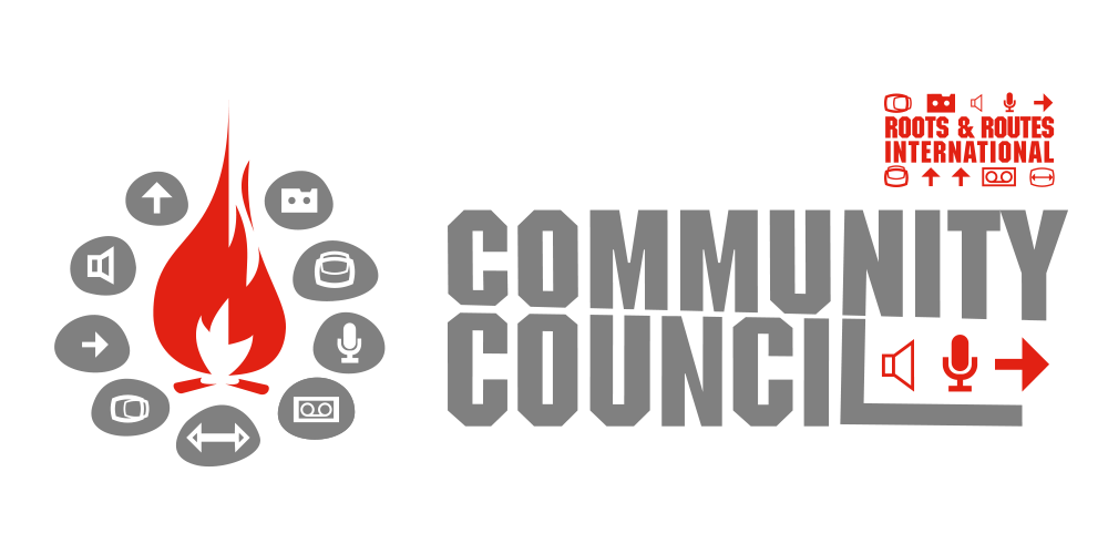 Logo ROOTS & ROUTES International Community Council